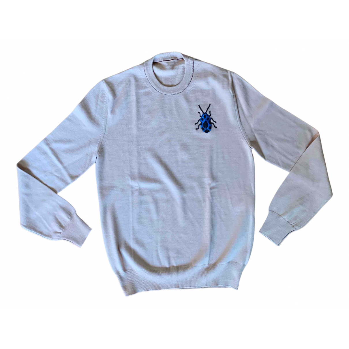 Alexander Mcqueen - Pulls.Gilets.Sweats   pour homme en laine - beige