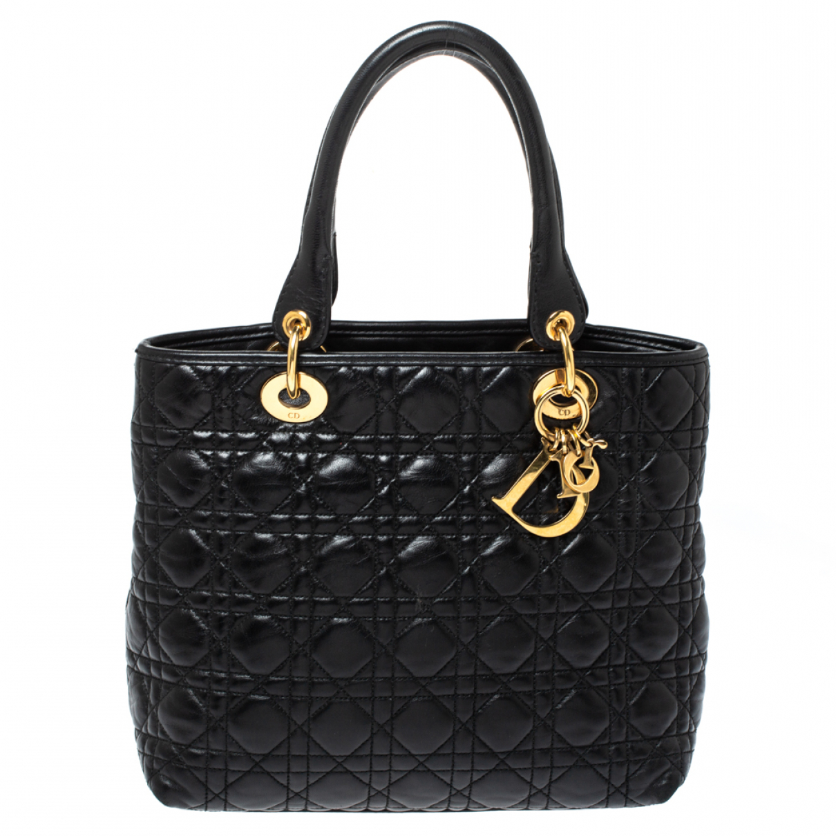 Dior N Black Leather handbag for Women N