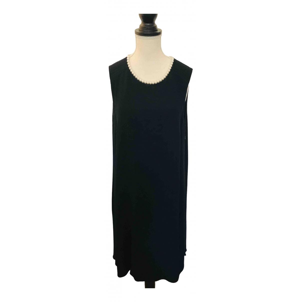 Claudie Pierlot \N Kleid in  Schwarz Viskose