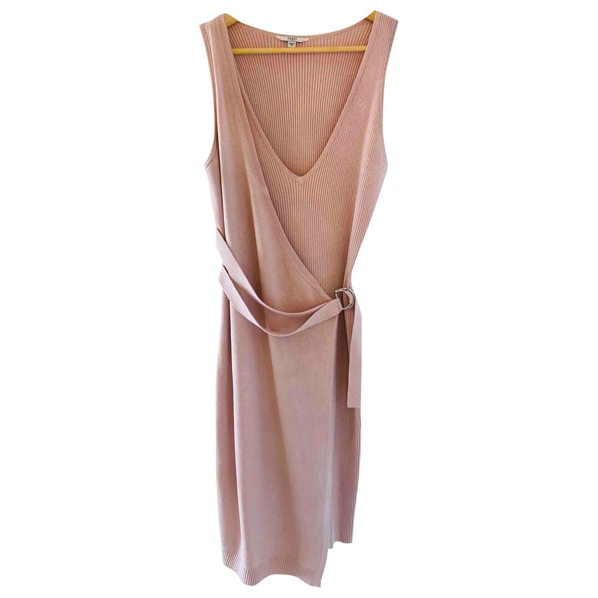 Guess - Robe   pour femme en laine - rose