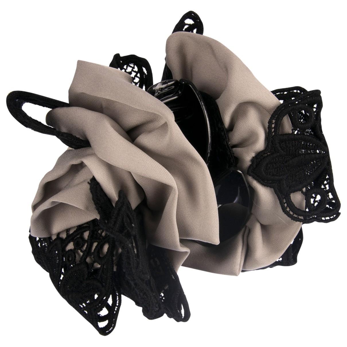 Dolce & Gabbana \N Haarschmuck in  Grau Seide