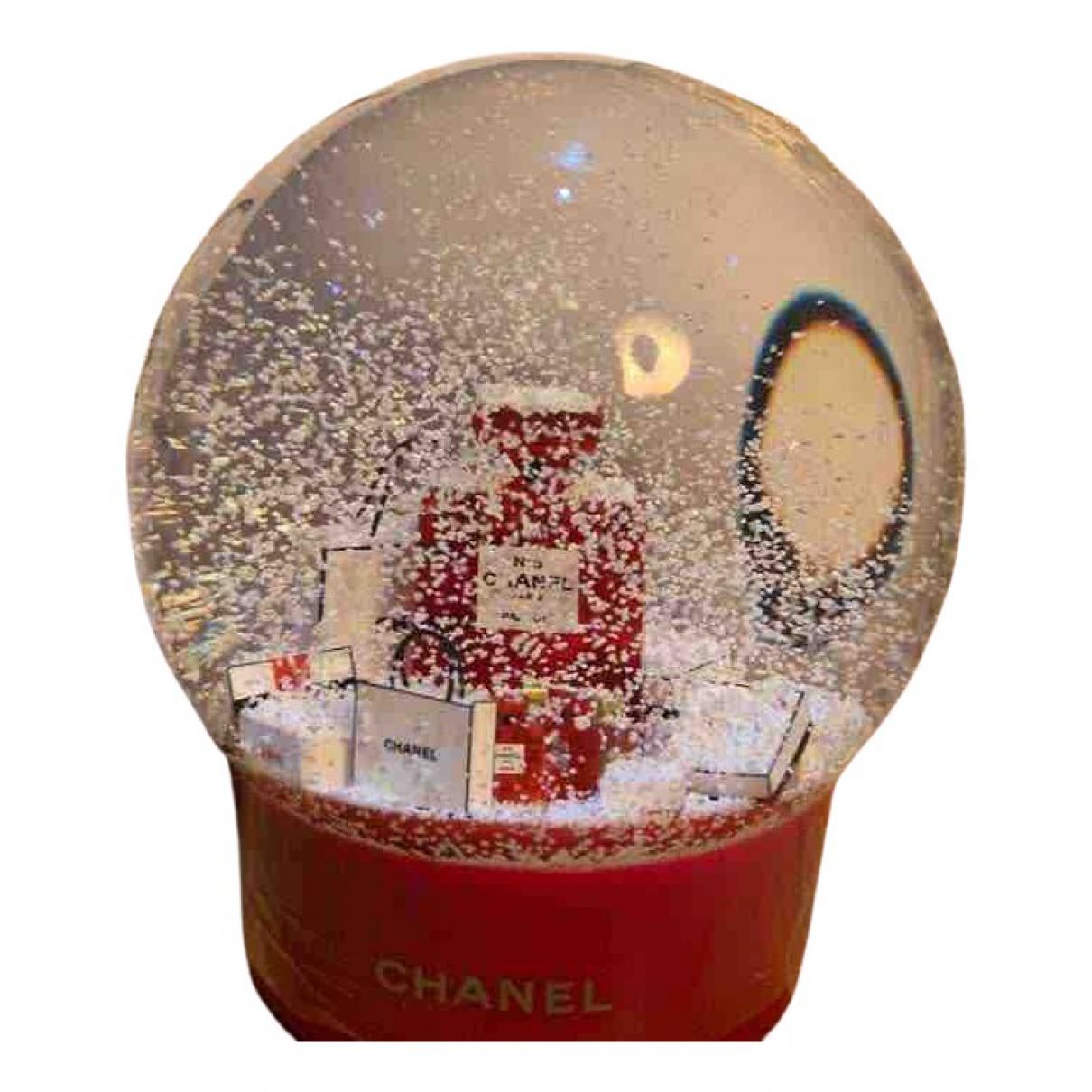 Chanel - Objets & Deco   pour lifestyle en verre - rouge