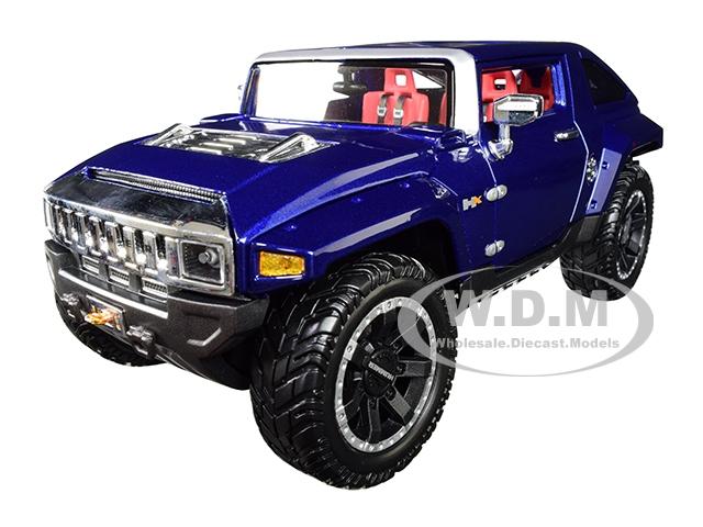 Hummer HX Concept Dark Blue Metallic