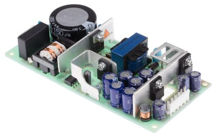 Cosel , Embedded Switch Mode Power Supply SMPS, 5 V dc, ±15 V dc, Open Frame