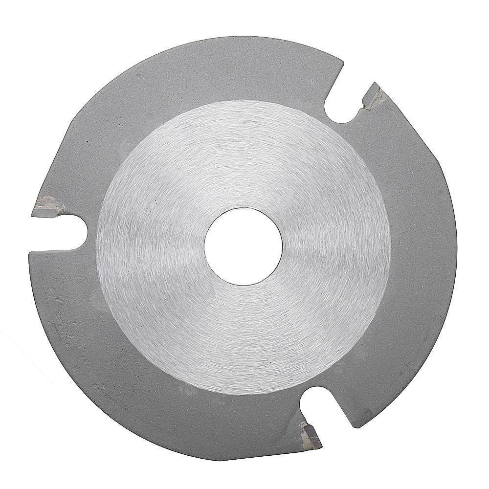 Drillpro 115x22.2x2.2mm 3T Circular Saw Blade Wood Cutting Disc Multitool Grinder Carbide Tipped Saw Disc