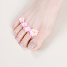 8pcs Flower Toe Separator