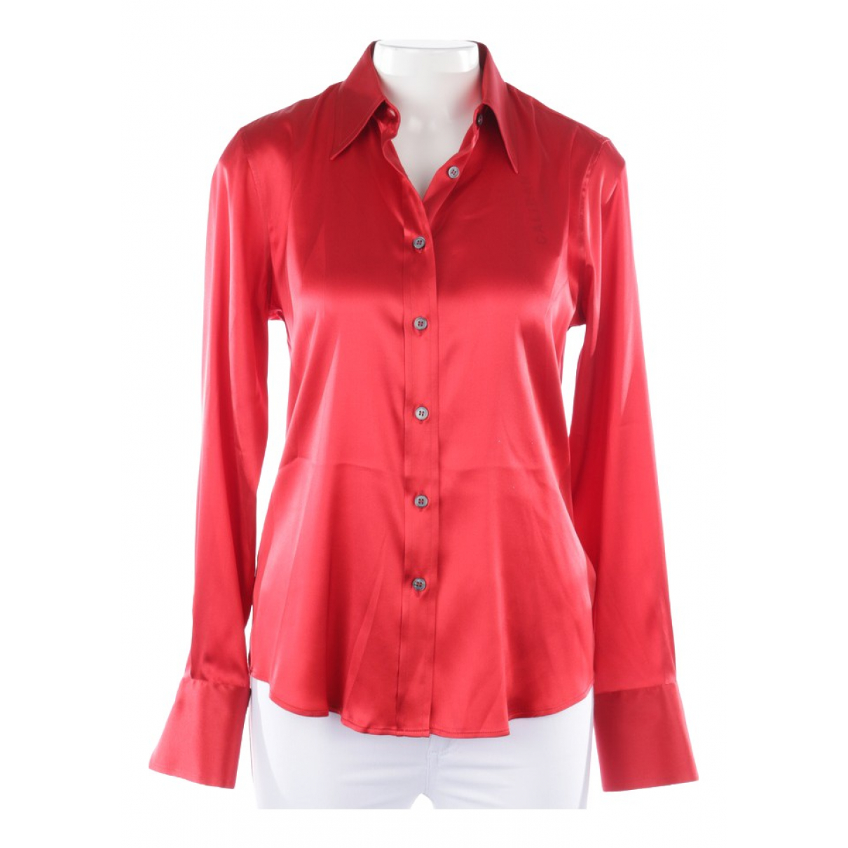 Caliban \N Red Silk  top for Women 38 FR