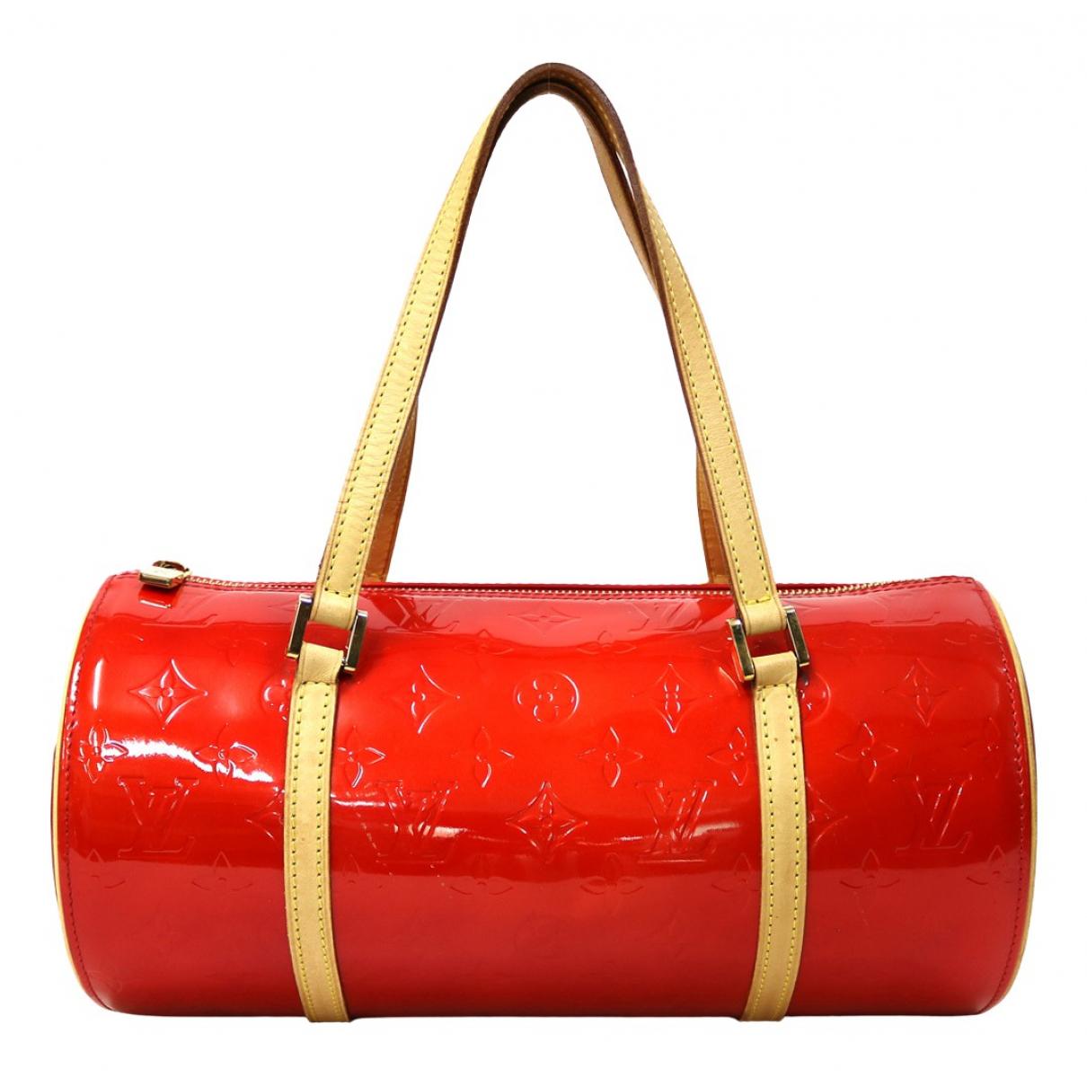 Louis Vuitton \N Handtasche in  Rot Lackleder