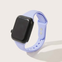 Solid Adjustable Apple Watch Band