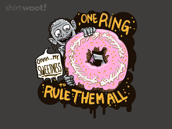 Lord Of The Donut Rings T Shirt