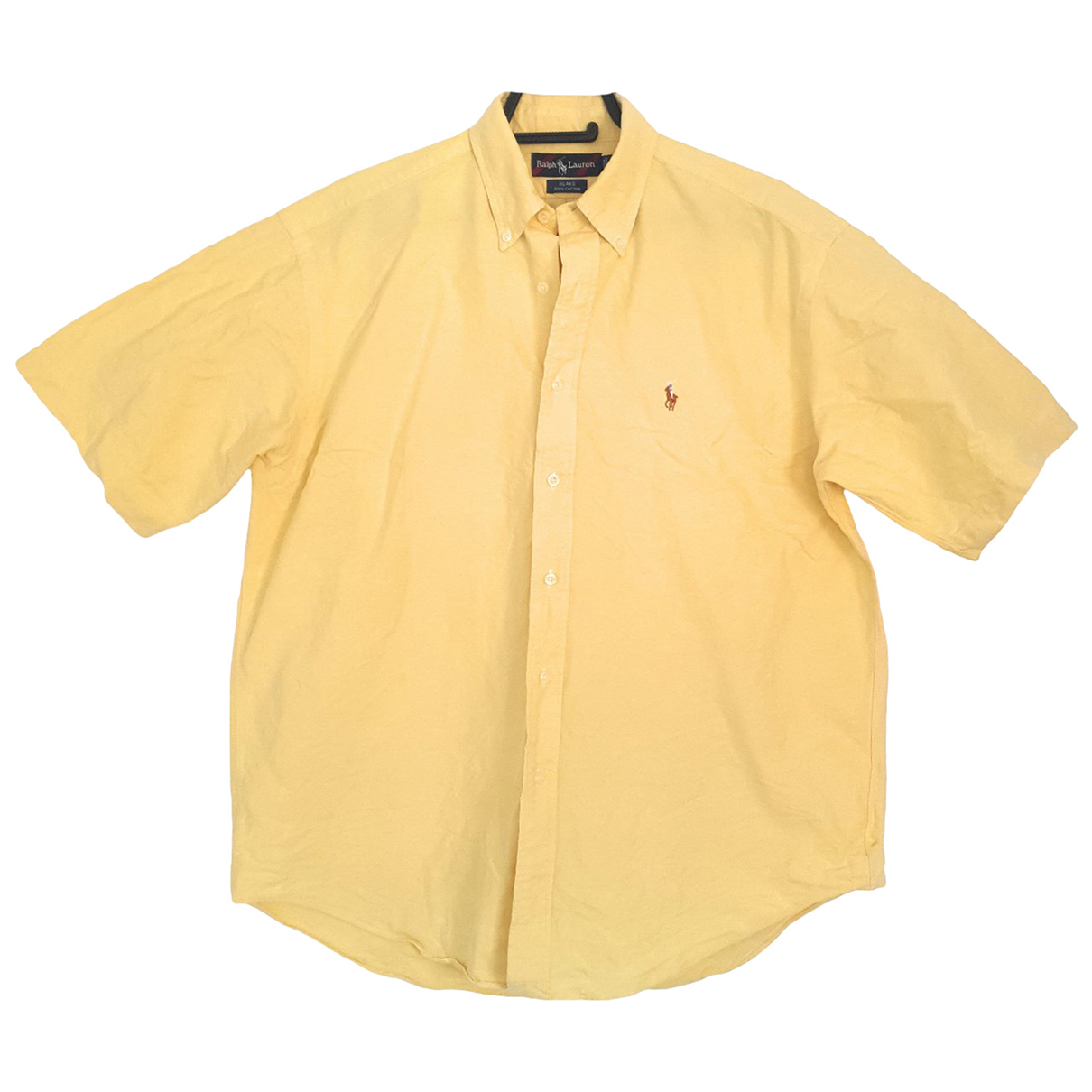 Ralph Lauren \N Yellow Cotton Shirts for Men M International