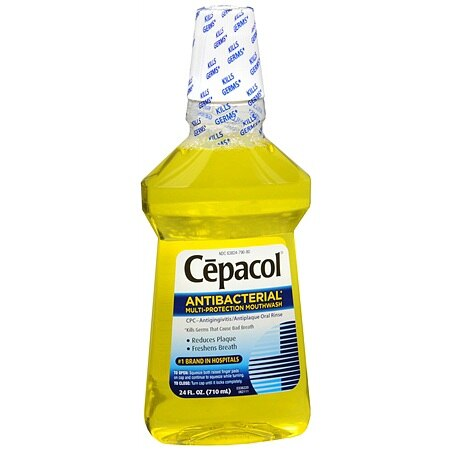 Cepacol Antibacterial Multi-Protection Mouthwash - 24.0 fl oz