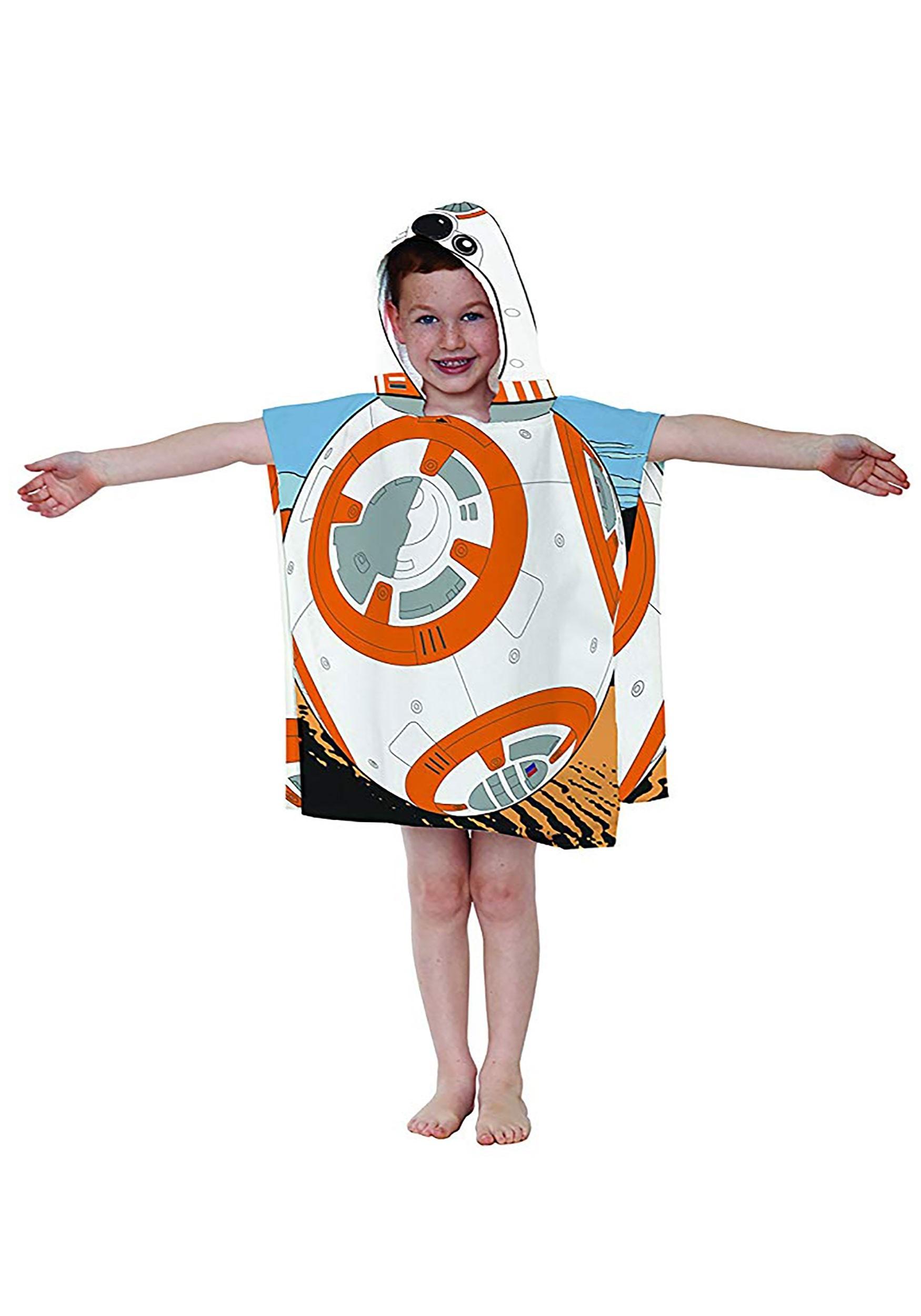 Star Wars Hooded BB-8 Costume Poncho
