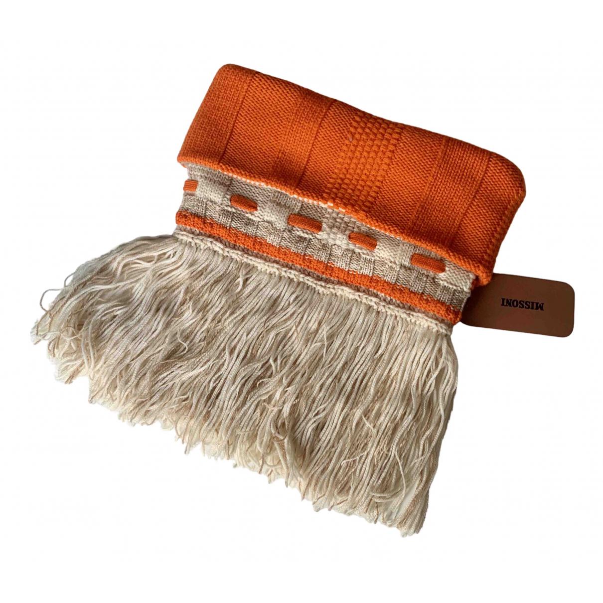 Missoni \N Beige Wool scarf for Women \N