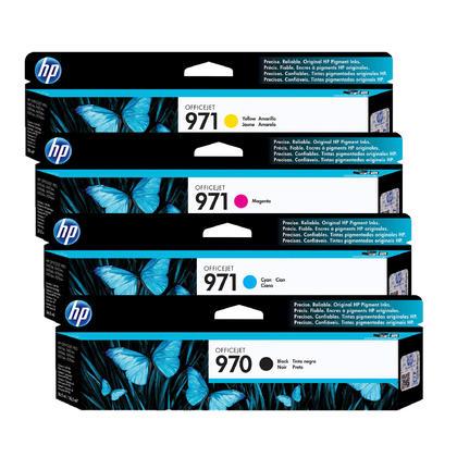 HP 970 971 cartouche d'encre originale combo BK/C/M/Y