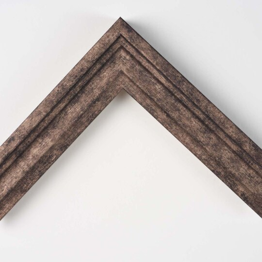 Mocha Burlap Step Custom Frame By Michaels® in Brown | 8 X 10 | MDF