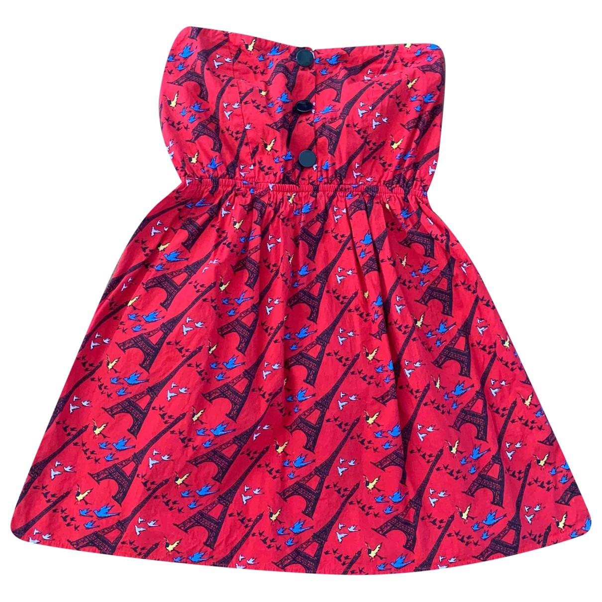 Topshop - Robe   pour femme en coton - multicolore