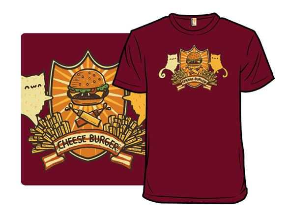 Cheese Burger T Shirt