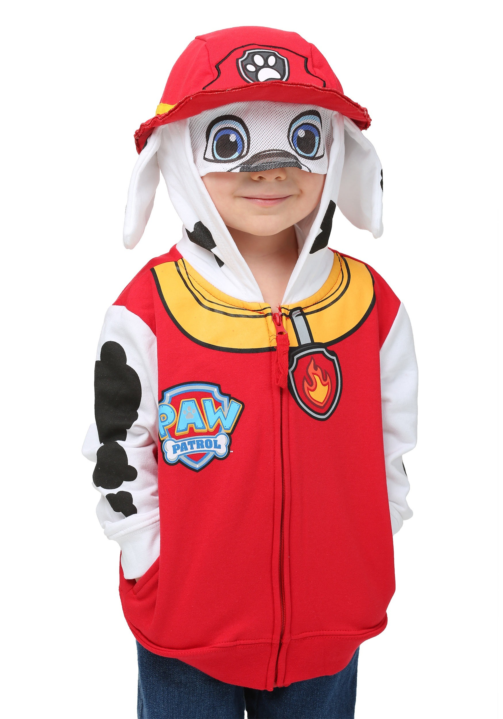 Kids Marshall Paw Patrol Costume Hoodie