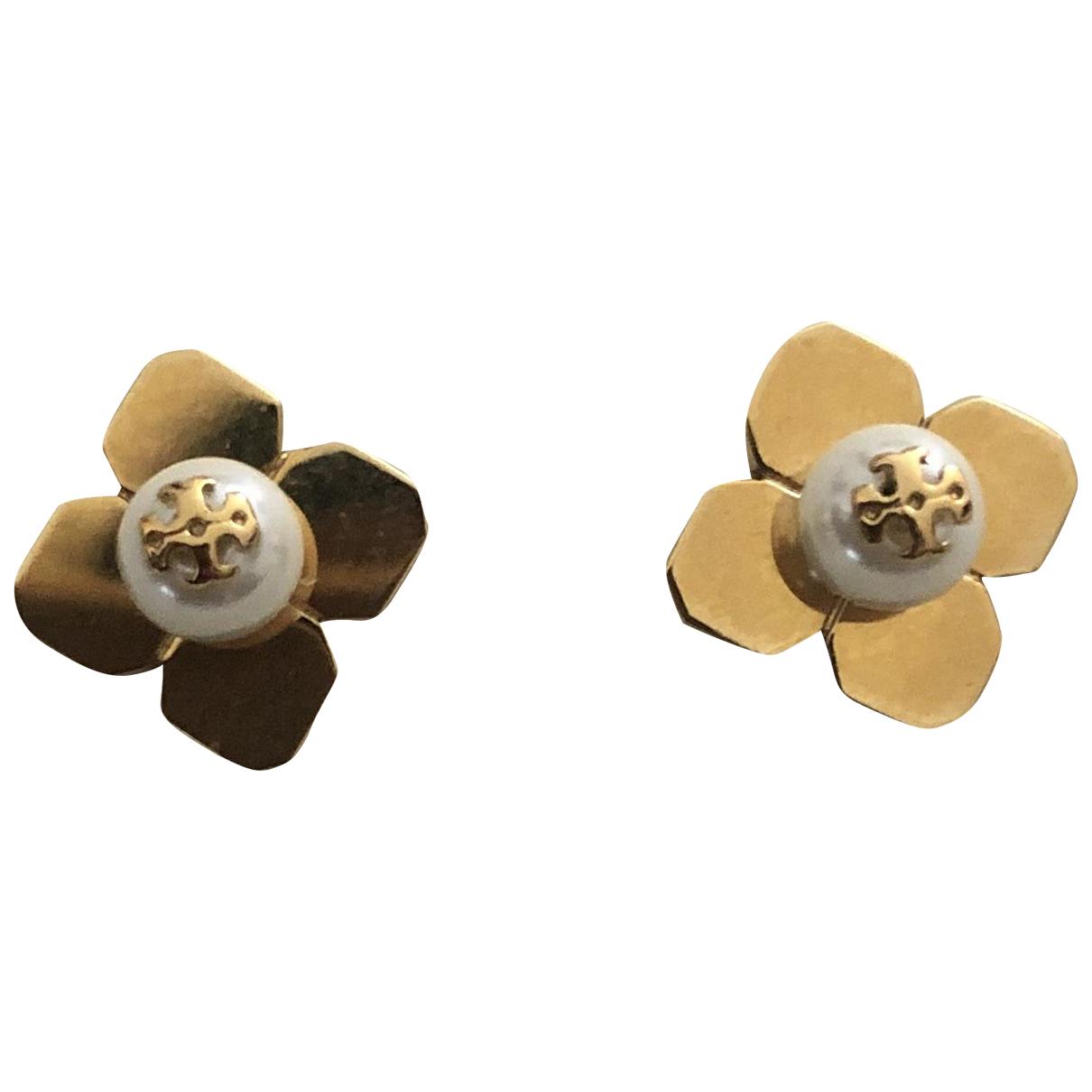 Tory Burch - Boucles doreilles   pour femme en plaque or - dore