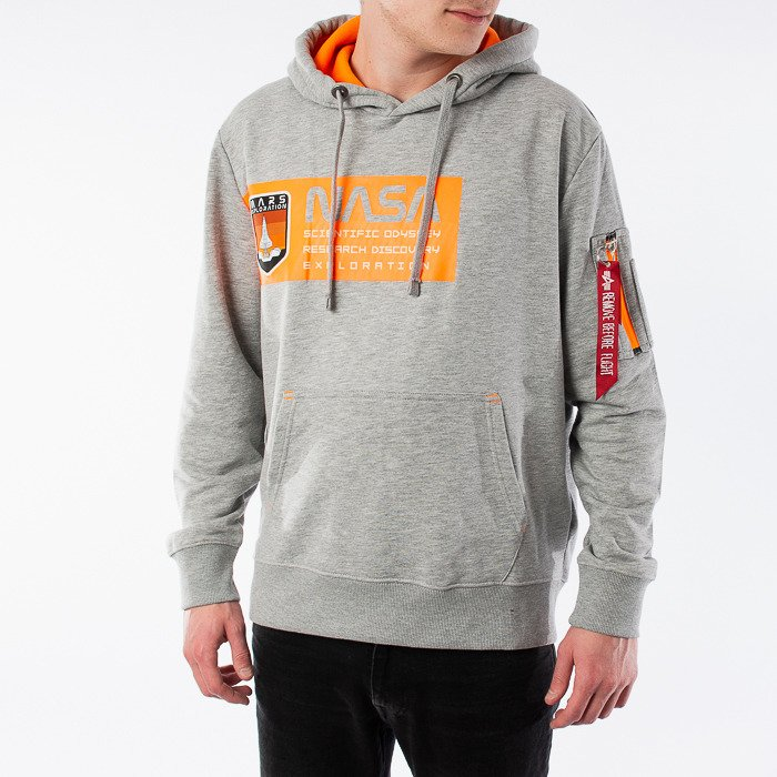 Alpha Industries Mars Neon Hoody 126332 17