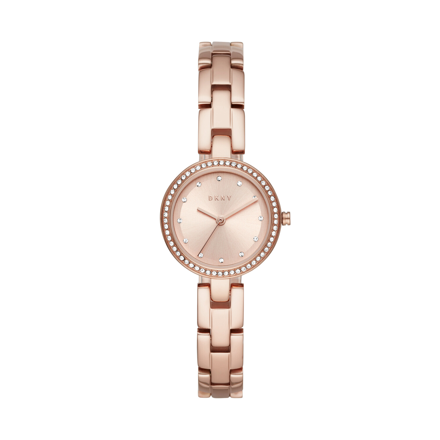 Dkny Women's City Link NY2826 Rose-Gold Stainless-Steel Quartz Fashion Watch