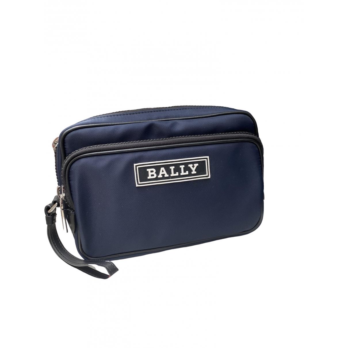 Bally \N Blue Small bag, wallet & cases for Men \N