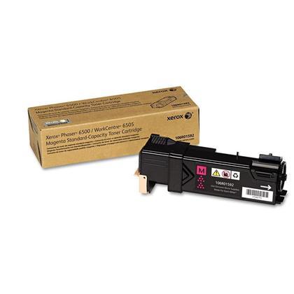 Xerox 106R01592 cartouche de toner originale magenta pour l'imprimante Phaser 6500 WorkCentre 6505