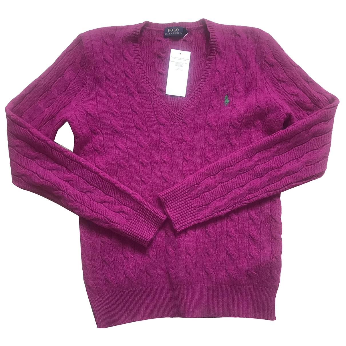 Polo Ralph Lauren \N Pink Wool Knitwear for Women S International