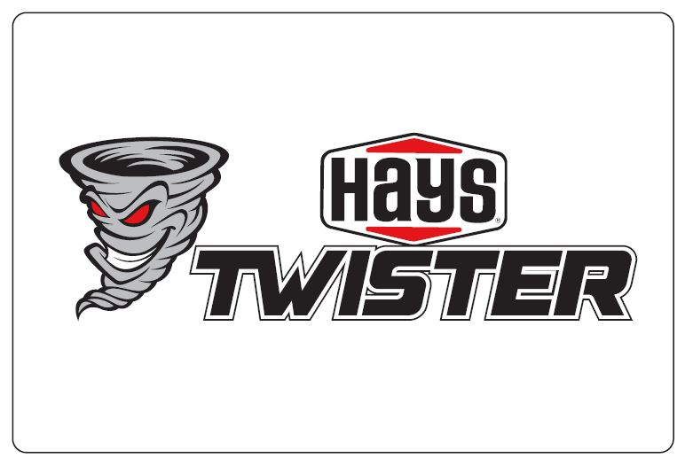 Holley 36-467 HAYS TWISTER DECAL