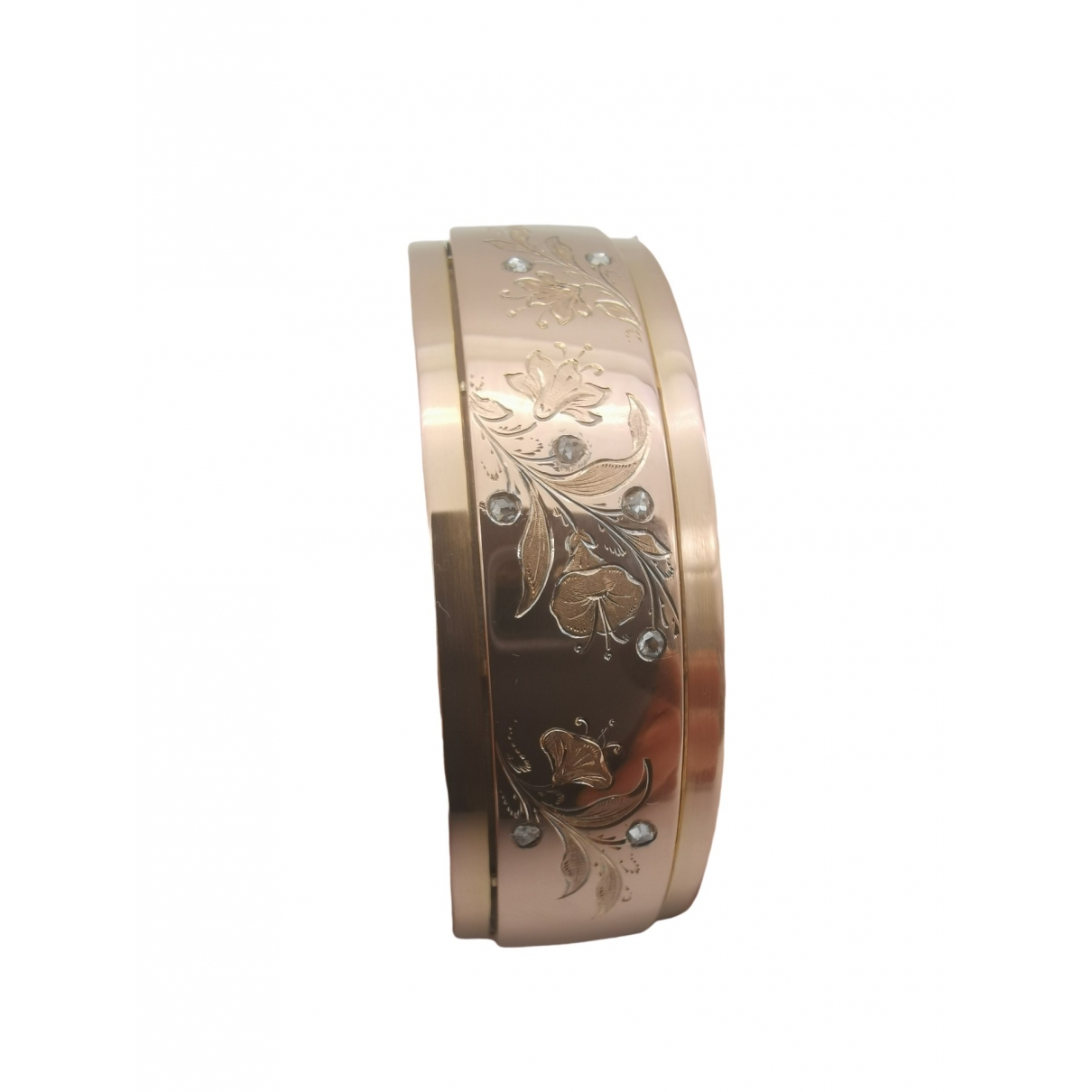 Non Signé / Unsigned \N Pink Pink gold bracelet for Women \N