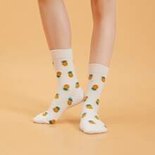 Socken mit Obst Muter