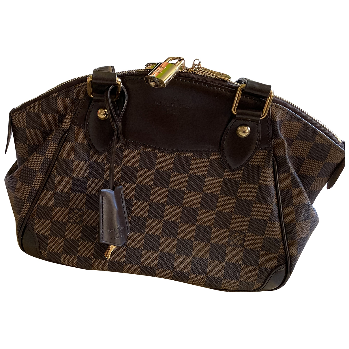 Louis Vuitton Verona Brown Cloth handbag for Women \N