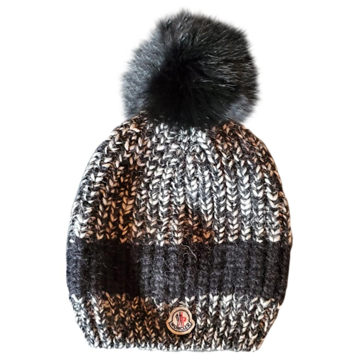 Moncler \N Black Wool hat for Women M International