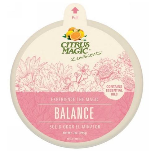 ZenScents Solid Air Freshner Balance 7 Oz by Citrus Magic