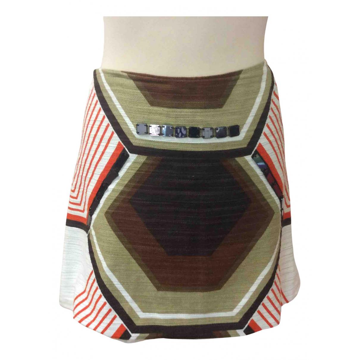 Miu Miu N Multicolour Cotton skirt for Women 46 IT