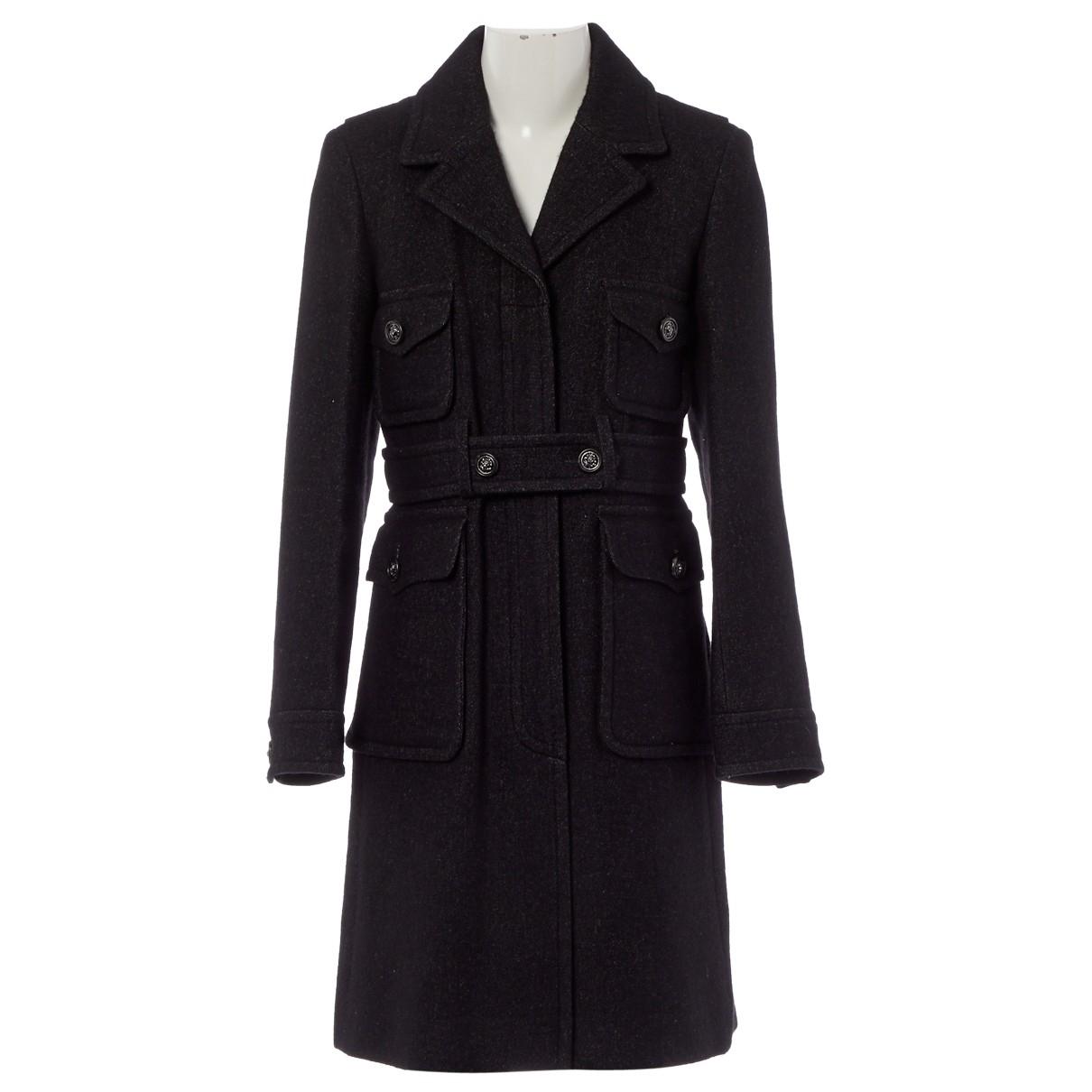 Chanel \N Black Linen coat for Women 38 FR