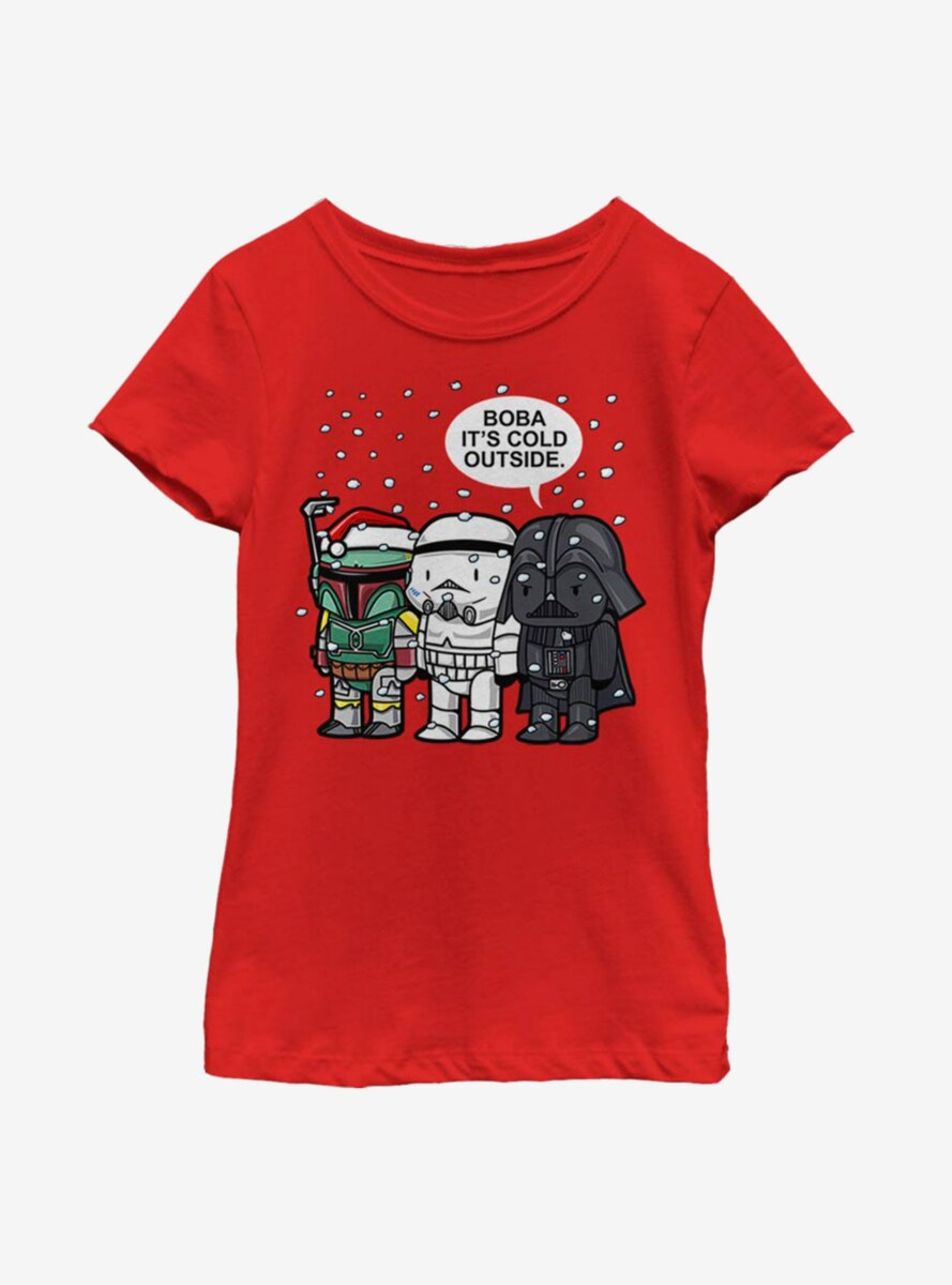 Star Wars Boba It's Cold Youth Girls T-Shirt