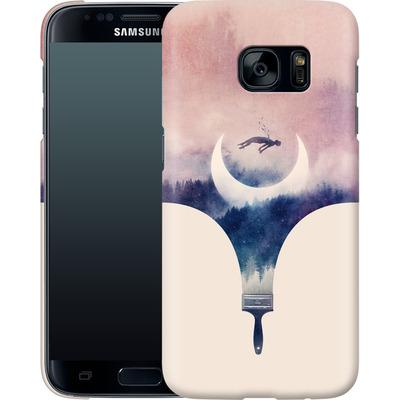 Samsung Galaxy S7 Smartphone Huelle - Fleeting Moments Wide von Enkel Dika