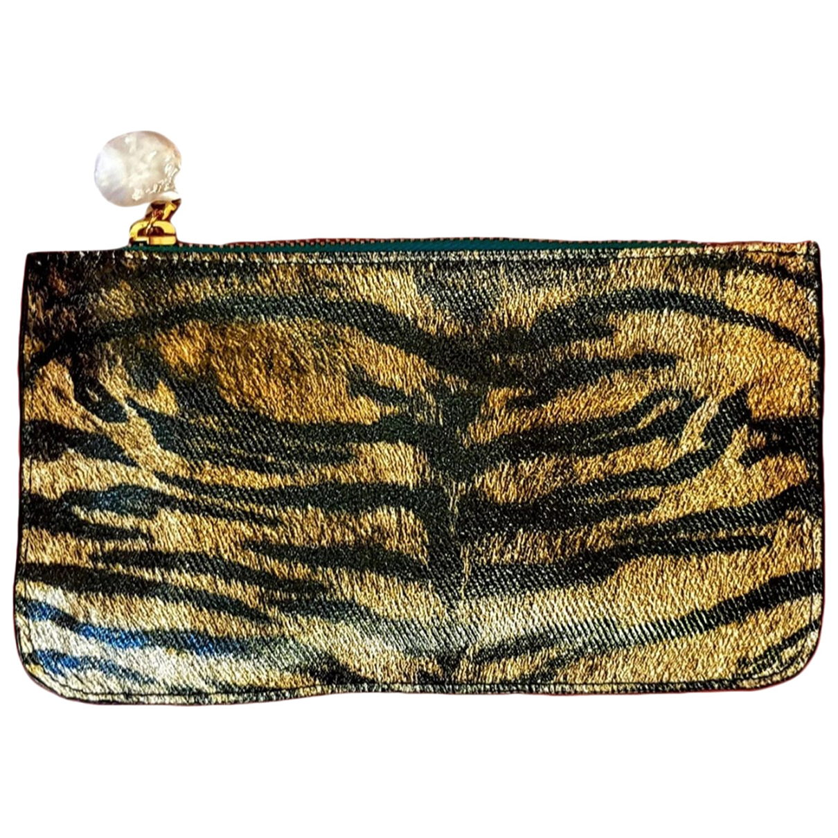 Roberto Cavalli N Multicolour Leather Clutch bag for Women N