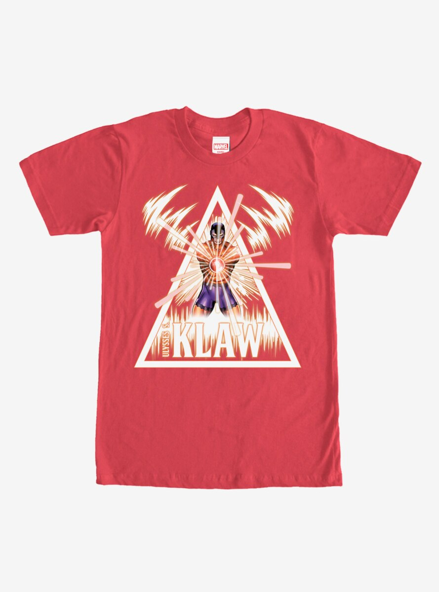 Marvel Klaw Triangle T-Shirt