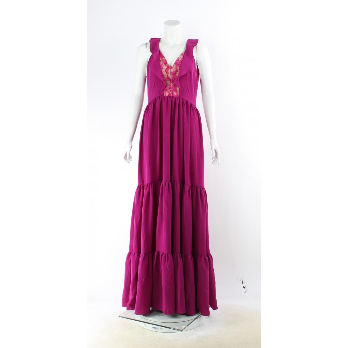 Saloni \N Kleid in  Rosa Polyester