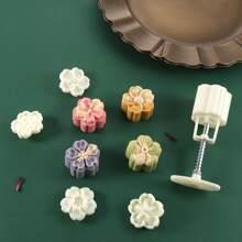 5 Stuecke Pressform Set fuer chinesischen Mondkuchen