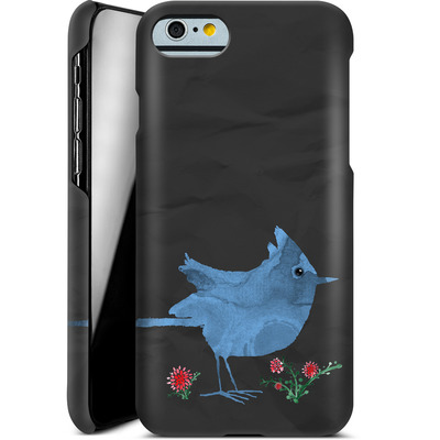 Apple iPhone 6 Smartphone Huelle - Watercolour Bird Black von caseable Designs