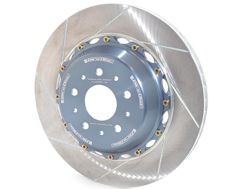 Girodisc A1-097 Front 380mm 2 Piece Rotor 8/4 Pot Lamborghini Murcielago Late