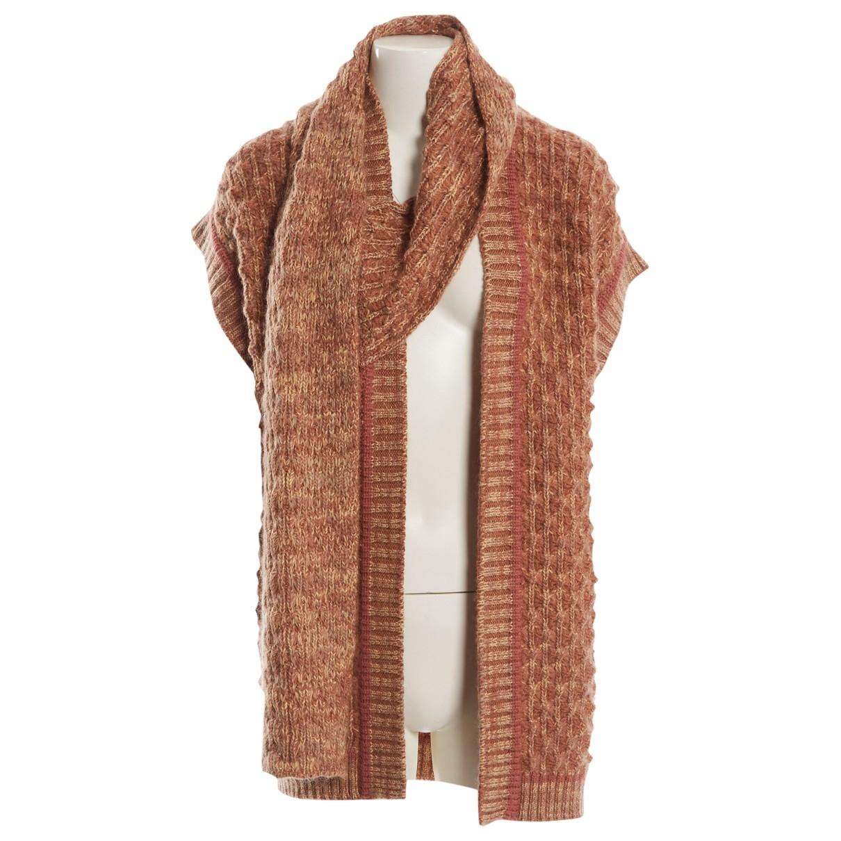 Missoni - Pull   pour femme en laine - camel