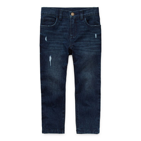 Okie Dokie Toddler Boys Skinny Fit Jean, 2t , Blue