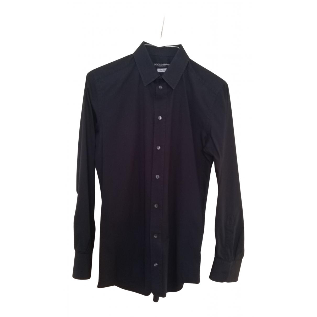 Dolce & Gabbana - Chemises   pour homme en coton - marine
