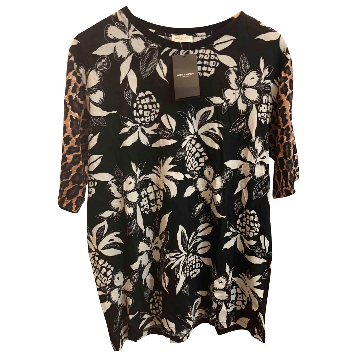 Saint Laurent \N Multicolour Cotton T-shirts for Men M International