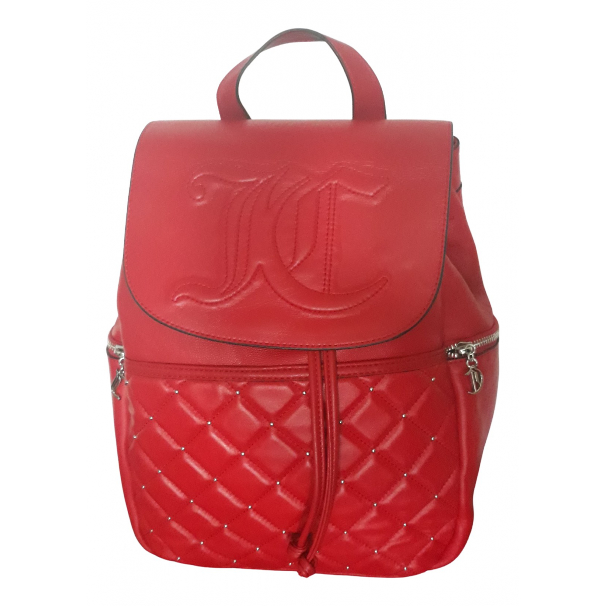 Juicy Couture \N Rucksaecke in  Rot Leder